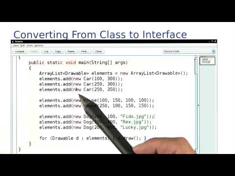 Converting from Class to Interface - Intro to Java Programming thumbnail