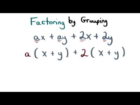 Factoring by Grouping - Visualizing Algebra thumbnail