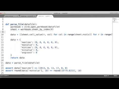 Reading Excel Files - Data Wranging with MongoDB thumbnail