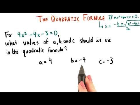 Values of a b c - College Algebra thumbnail