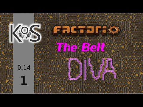 Factorio 0 14 The Belt Diva! Ep 1: The Copper Seagull