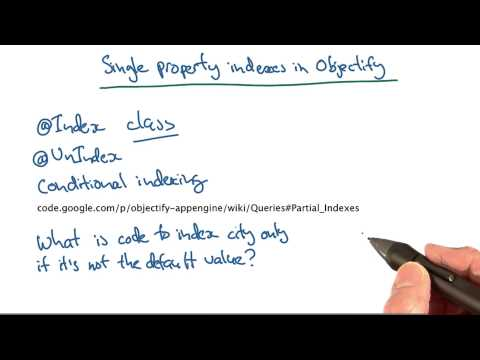 Suppressing Single Property Indexes Quiz - Developing Scalable Apps with Java thumbnail