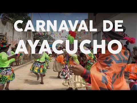 VIAJA Y PRUEBA EN EL CARNAVAL DE AYACUCHO, Luciano Mazzetti probando Huamanga. thumbnail