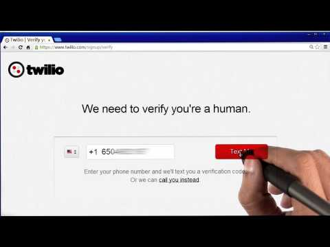 Registering with Twilio - Programming Foundations with Python thumbnail