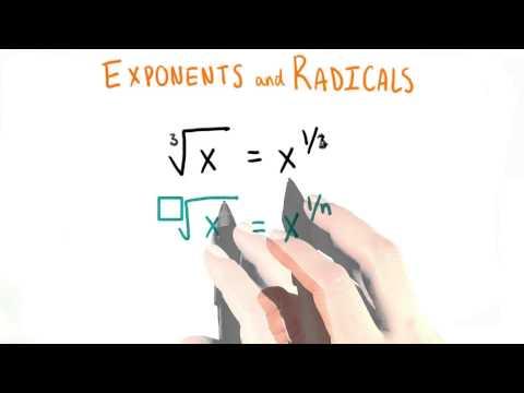 Radicals - College Algebra thumbnail