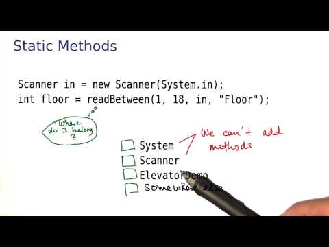 Static Methods - Intro to Java Programming thumbnail