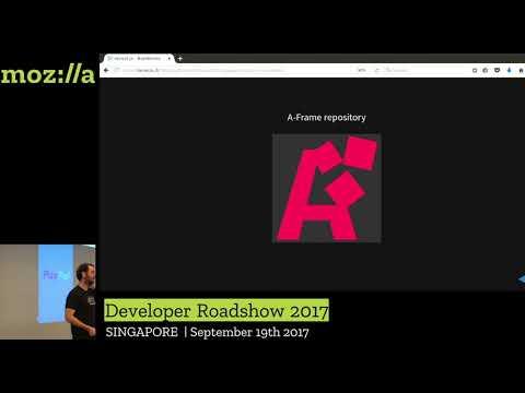 Mozilla Developer Roadshow Asia WebVR A-Frame thumbnail