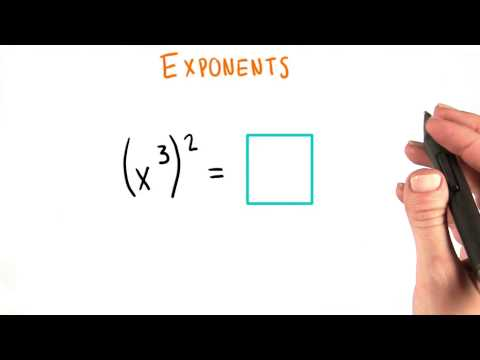 More Exponents - College Algebra thumbnail