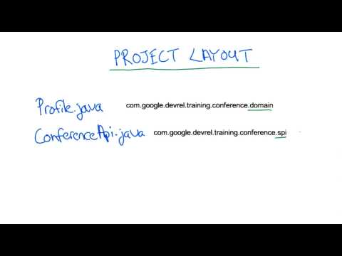 Conference Central Project Layout - Developing Scalable Apps with Java thumbnail