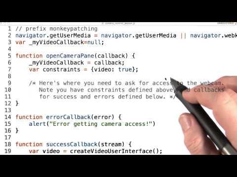 Webcam access - Mobile Web Development thumbnail