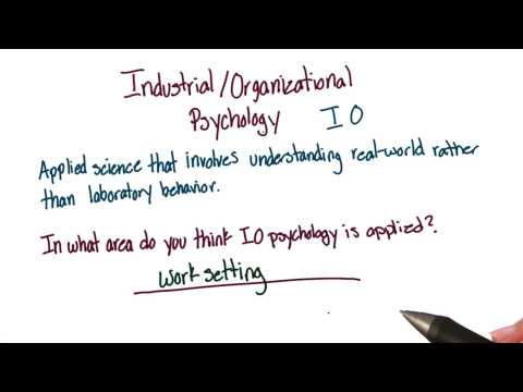 What is IO psychology - Intro to Psychology thumbnail