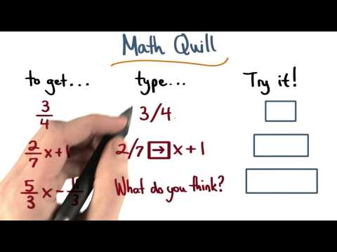 Math Quill Unit 3 - Visualizing Algebra thumbnail