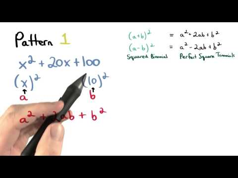 Factor Pattern 1 - Visualizing Algebra thumbnail