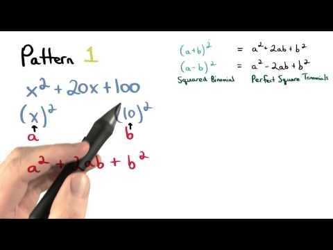 Factor Pattern 1 - Visualizing Algebra thumbnail