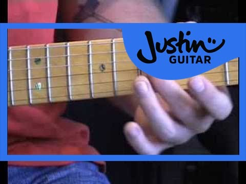 Blues Lead Guitar: Five More Blues Licks #7of20 (Guitar Lesson BL-017) How to play thumbnail