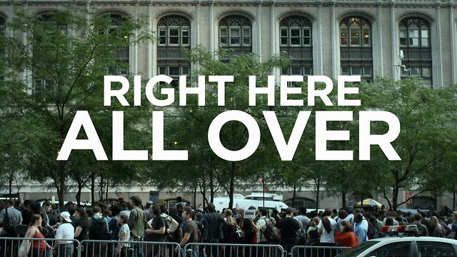 Right Here All Over  (Occupy Wall St.) thumbnail