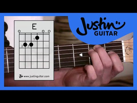 The E Chord (Guitar Lesson BC-113) Guitar for beginners Stage 1 thumbnail
