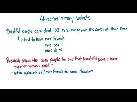 Attractiveness consequences - Intro to Psychology thumbnail