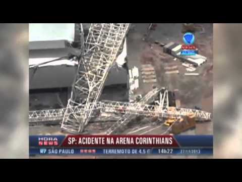 Raw: 3 Dead in Brazil World Cup Stadium Collapse thumbnail