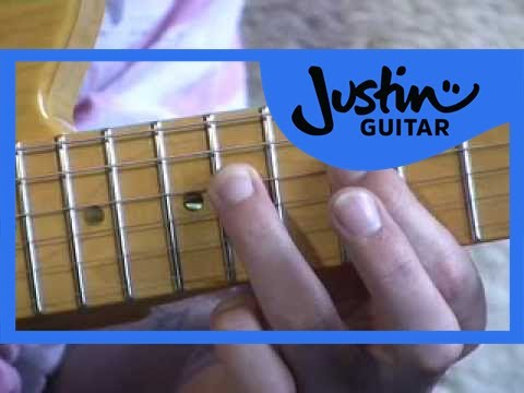 Blues Lead Guitar: Position 4 Scales #13of20 (Guitar Lesson BL-023) How to play thumbnail