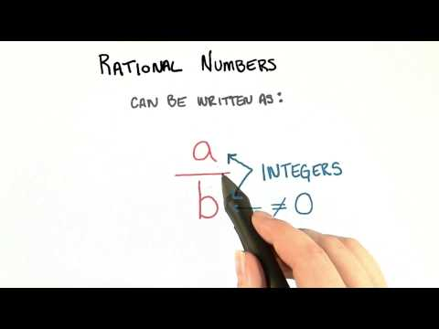 Rational Numbers - College Algebra thumbnail