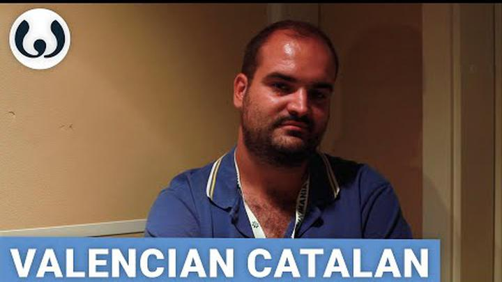Francesc speaking Valencian Catalan | Romance languages | Wikitongues