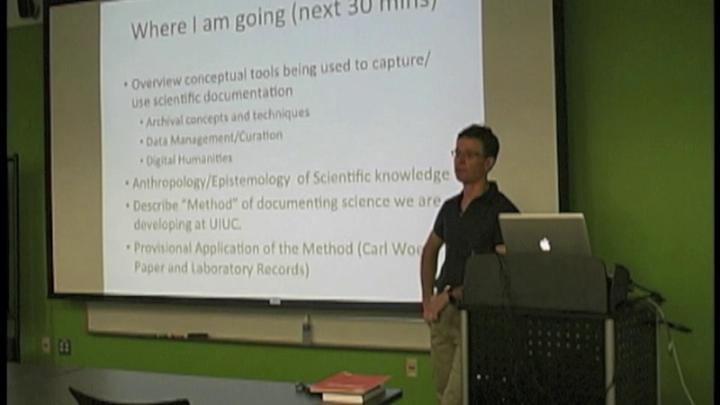 Chris Prom: Documenting Science in the Digital Age: What's the Same and What's Different