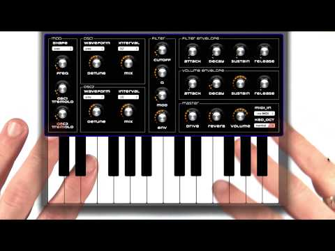 Synth app - Mobile Web Development thumbnail