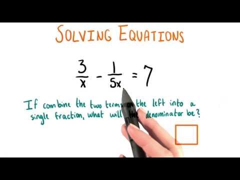 New Denominator - College Algebra thumbnail