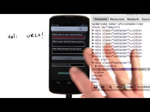 Telephone calls - Mobile Web Development thumbnail