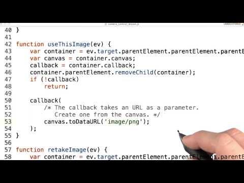 Camera callback - Mobile Web Development thumbnail