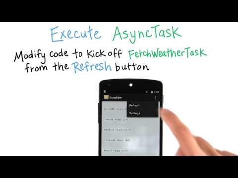 Execute AsyncTask - Developing Android Apps thumbnail