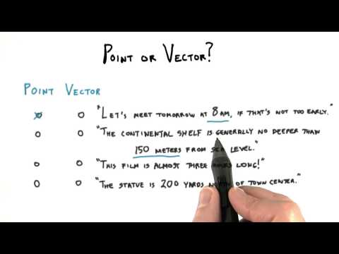 Point or Vector - Interactive 3D Graphics thumbnail