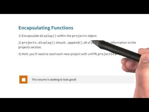 Encapsulating Functions Quiz - JavaScript Basics thumbnail