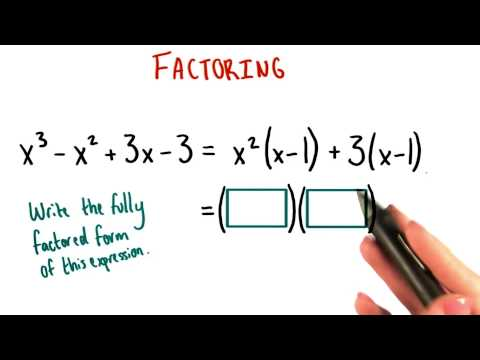 Fully Factored Form - College Algebra thumbnail