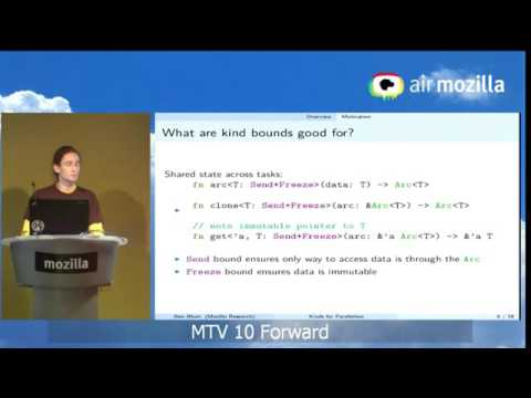 """Ben Blum from the Research team presents """"Types of Types in Rust"""" thumbnail"""