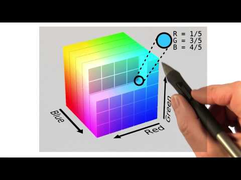 The Color Cube - Interactive 3D Graphics thumbnail