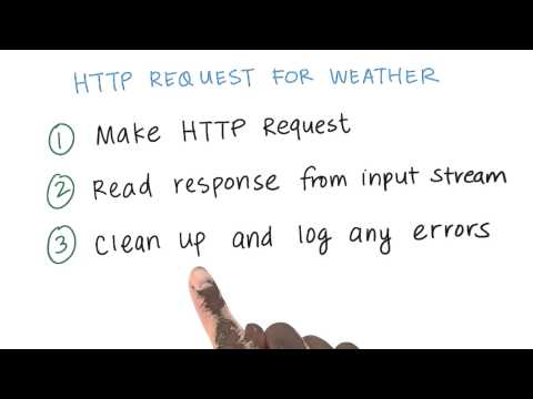 HTTP Request for Weather Data - Developing Android Apps thumbnail