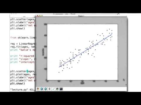 Visualizing Regression - Intro to Machine Learning thumbnail