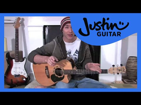 4:4 all down rhythm (Guitar Lesson BC-116) Guitar for beginners Stage 1  thumbnail