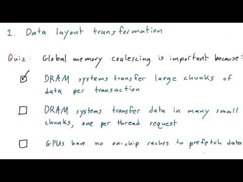 Data Layout Transformation - Intro to Parallel Programming thumbnail