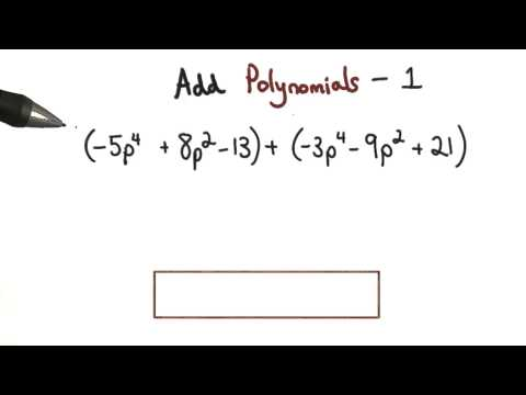 Add Polynomials Practice 1 - Visualizing Algebra thumbnail