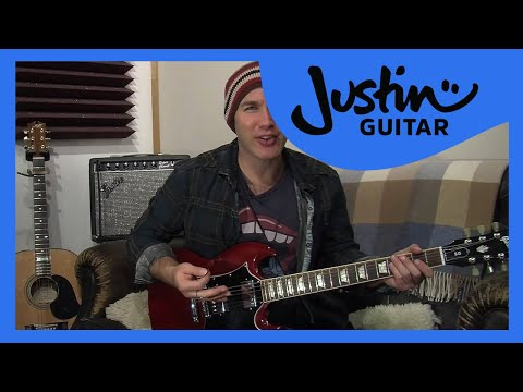 JUSTIN Method Training Exercises 5 (Guitar Lesson IM-158) How to play IF Stage 5 thumbnail