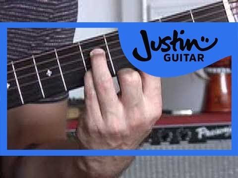 Basic Barré Chords #4of4 (Guitar Lesson CH-006) How to play thumbnail