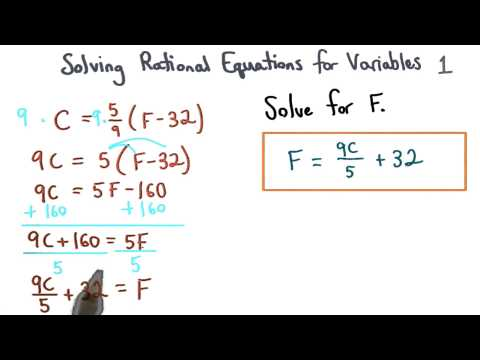 Solving Equations for Variables Check 1 thumbnail