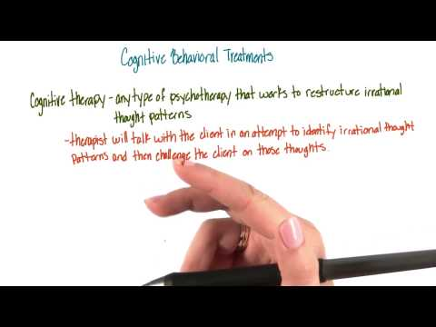 Cognitive behavioral therapy - Intro to Psychology thumbnail