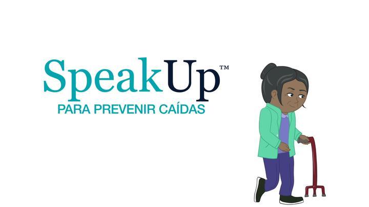Speak Up to Prevent Falls Spanish
