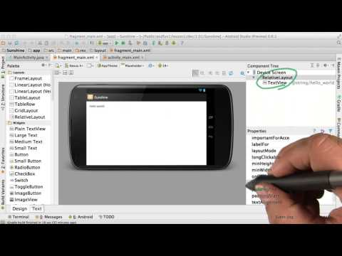 Create a User Interface - Developing Android Apps thumbnail
