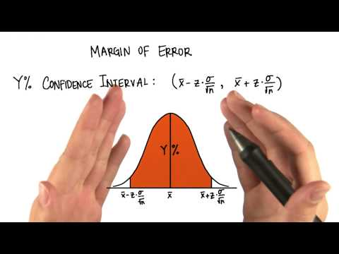 Margin of Error - Intro to Inferential Statistics thumbnail