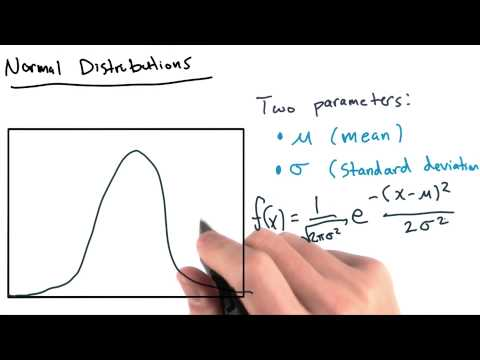 Introduction to Normal Distribution - Intro to Data Science thumbnail